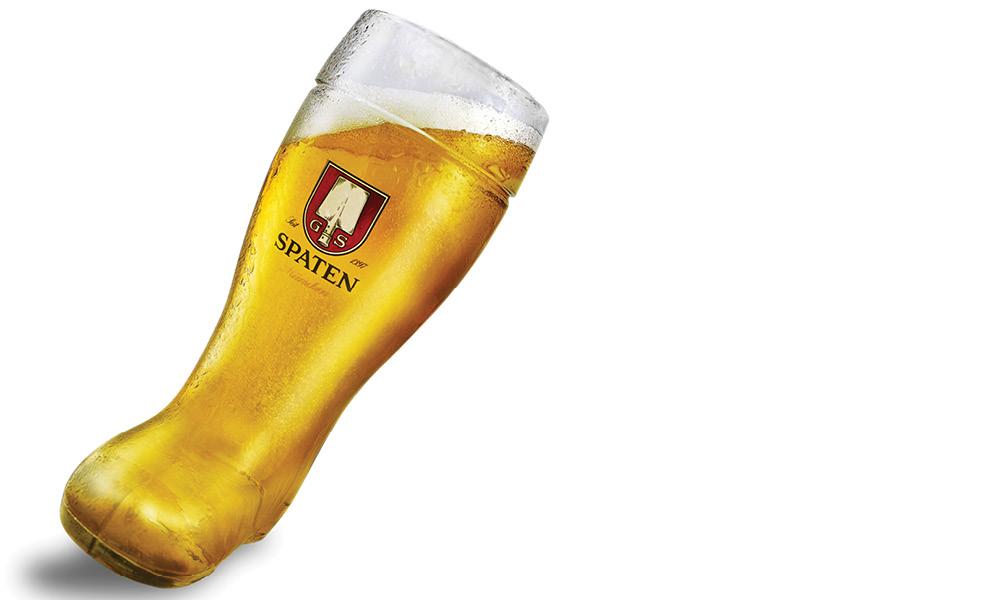 Beer On A Tilt Mantle Integrated Advertising